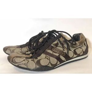 Coach Katelyn Sneakers size 8.5, C print